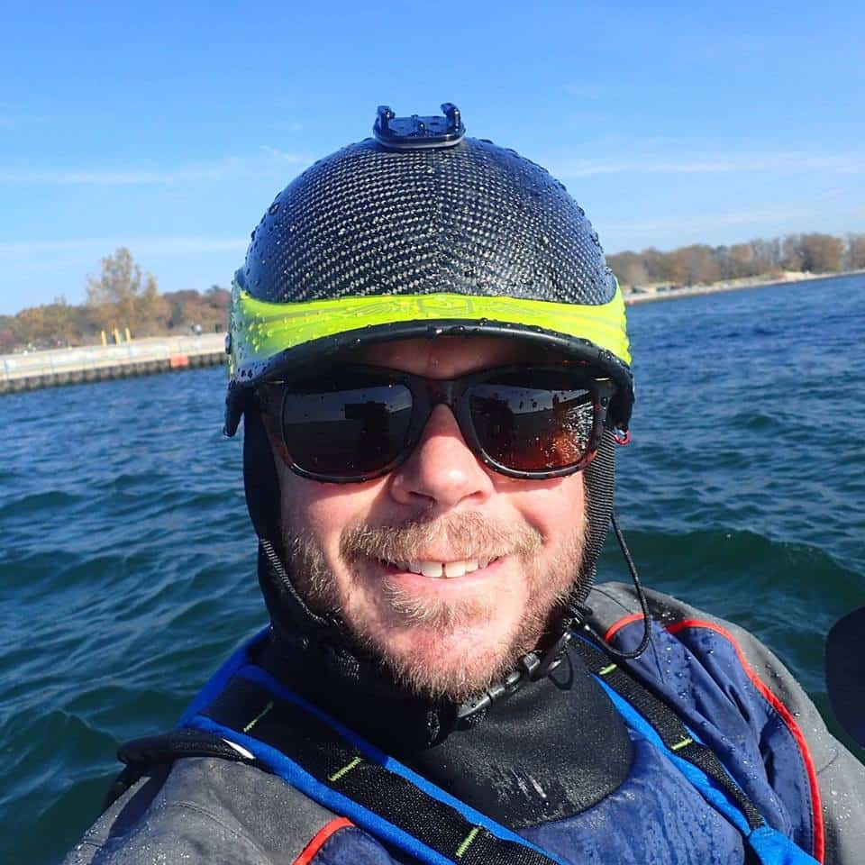 keith wikle kayak coach at great lakes sea kayak symposium