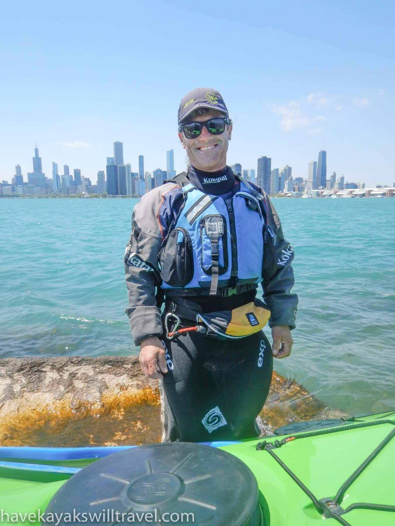 Alec Bloyd-Peshkin kayak coach at great lakes sea kayak symposium