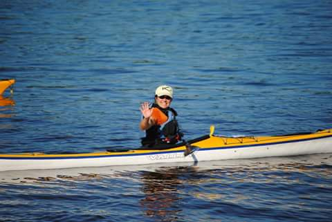 Patty Boucher kayak coach at great lakes sea kayak symposium