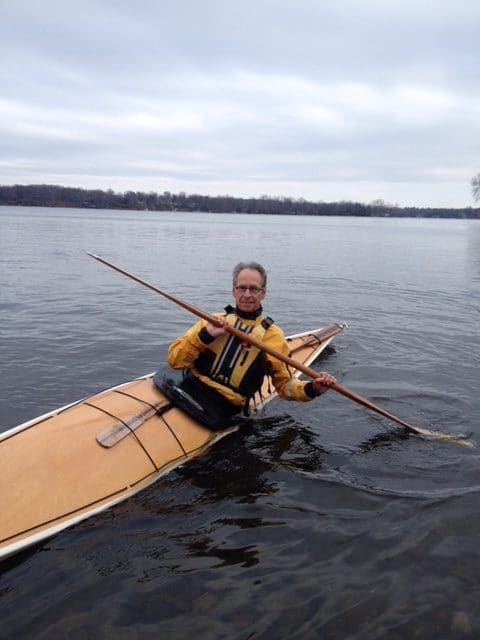 Doug Van Doren kayak coach at great lakes sea kayak symposium