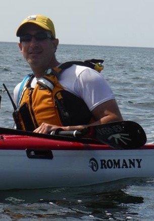 Jeff Adler kayak coach at great lakes sea kayak symposium